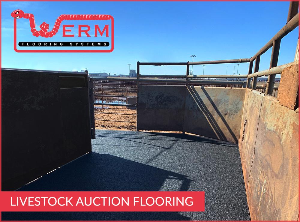 livestock auction flooring